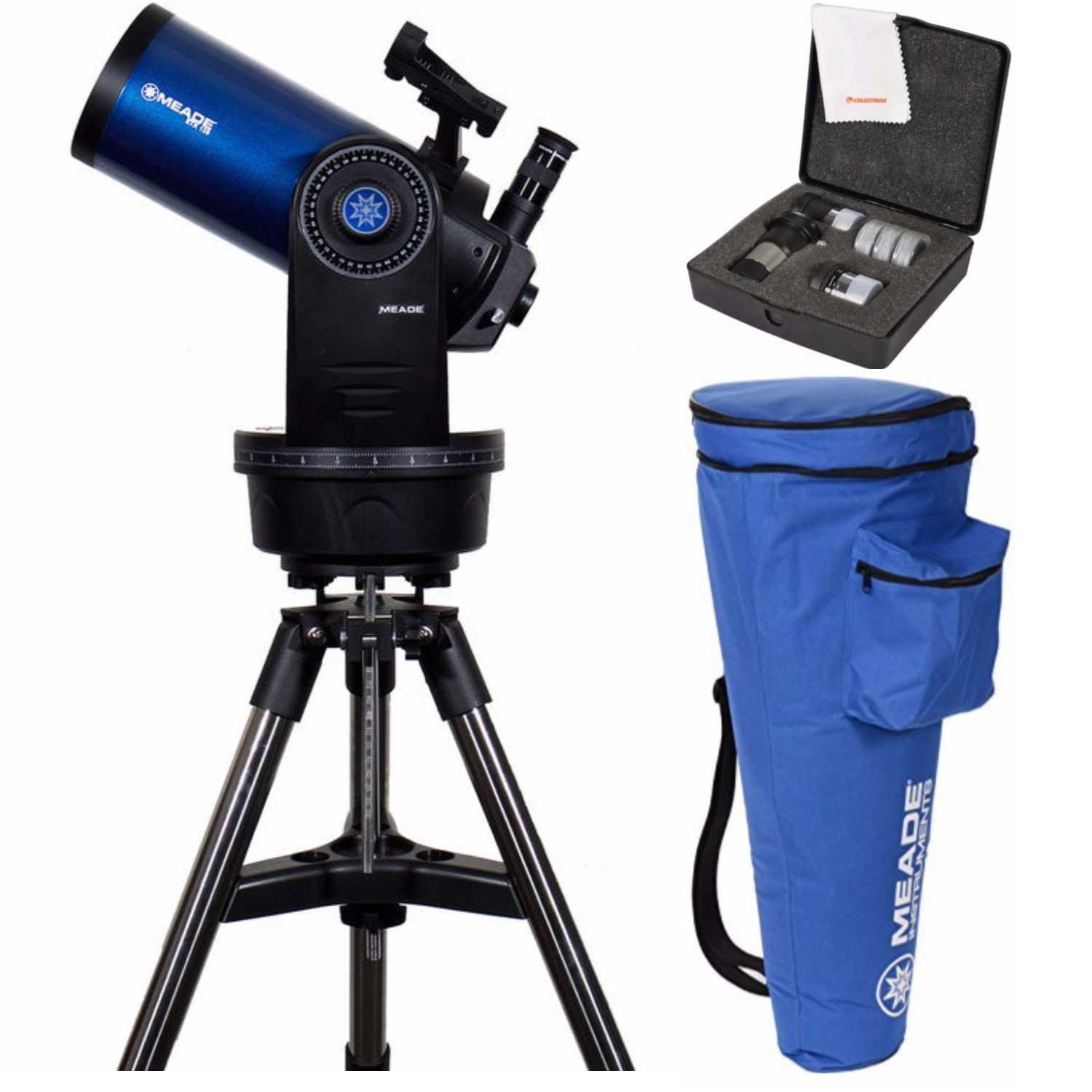 Get Quotations · Meade ETX 125 Observer Telescope & Tripod (205005)  W/Astromaster Eyepieces Kit