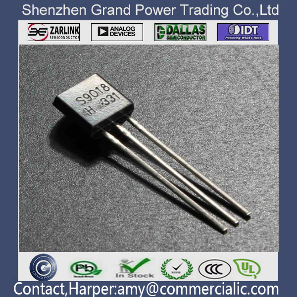 High Quality S9018 15 Value x 40 Pcs Transistor TO-92 Assortment Box Kit