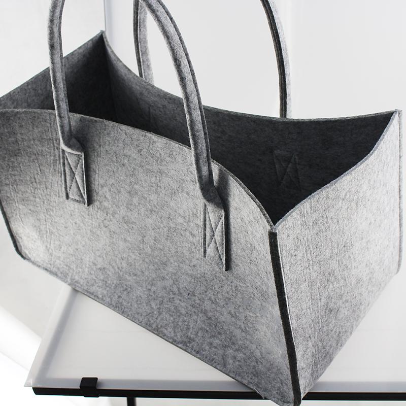大の女性のハンドバッグのためのトートバッグ卸売フェルトショッピングカスタマイズされたロゴ