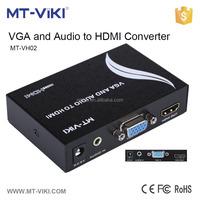 analog to digital tv converter 1080p vga to hdmi with audio