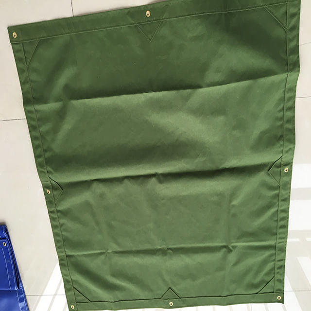 finished size 12OZ 100% polyester canvas tarpaulins