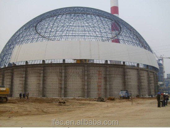 Prefabricated Steel Space Frame Dome Shed Structure