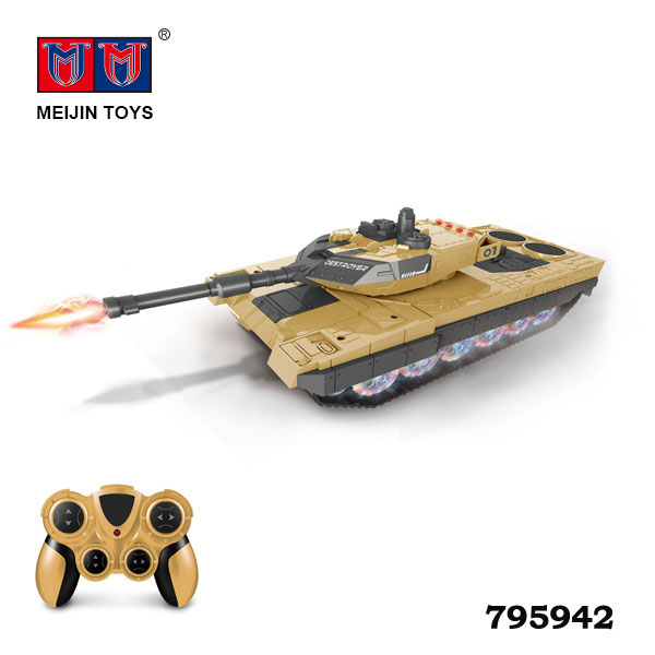 Hot Selling cool battery operation toy rc deformation robot tank for kids