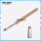 Professional smudge makeup brush with wooden handle