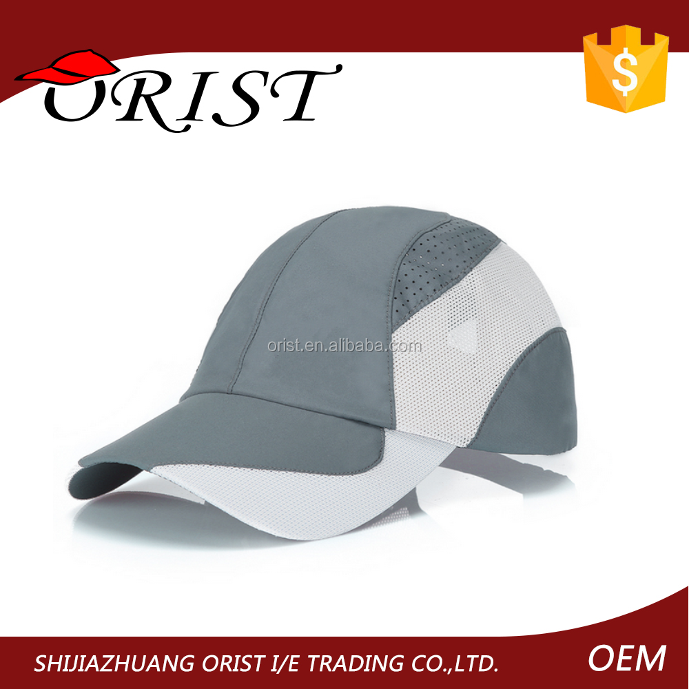 Hot Wholesale Dry Fit Performance Race Running Outdoor Sports Caps