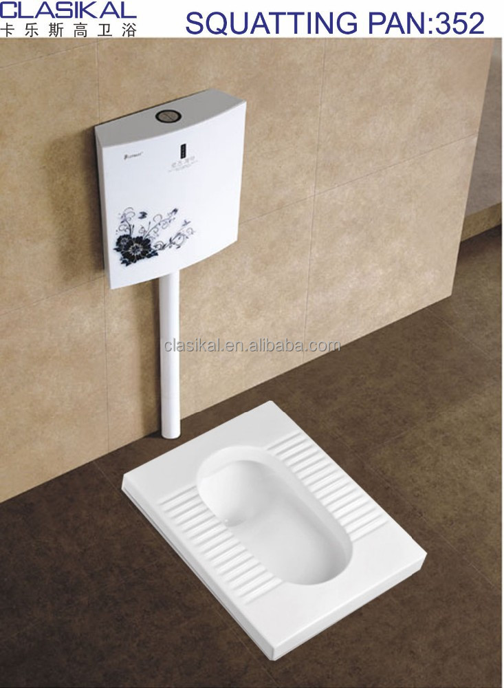 Whole sale cheap price China produce ceramic squatting pan toilet