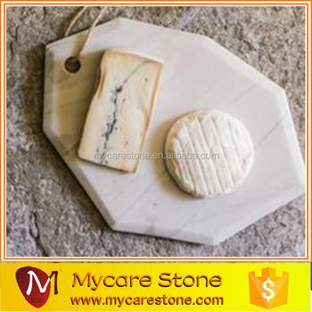 Italian Carrara Marble Trivet For Kitchen Accessories