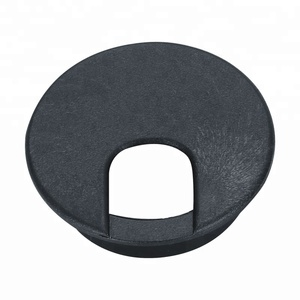 Round plastic table cover for computer desk /table hole cover/table cable management