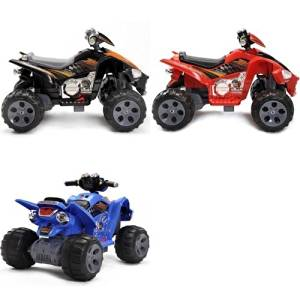 Kids QUAD ATV 4 Wheeler Ride On Power 2 Motors 12V Traction Wheels Black,RED OR BLUE (COLOR SENT AT RANDOM)- PLEASE EMAIL US FOR SPECIAL REQUEST PRIOR TO PURCAHSE (1 UNIT PER PURCHASE- YOU WILL RECIEVE ONE ATV -COLOR RANDOM)