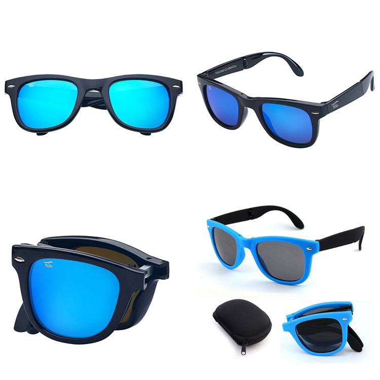 51540f835c Kids foldable sunglasses promotion style children size folding sun glasses