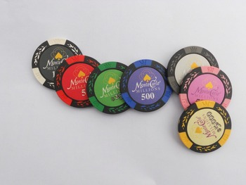 monte carlo logo clay poker chips poker chip for wholesaleno moq - Clay Poker Chips