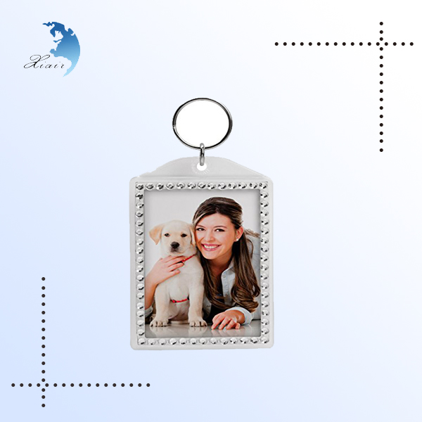 Promotional custom made personalized beautiful keychain for gift
