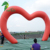 New Design Cheap Inflatable Led Light Heart Arch For Wedding