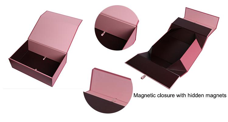 Custom Logo Large Luxury Magnetic Closure Empty Cardboard Paper Gift Box, Gift Box Cardboard Packaging Wholesale