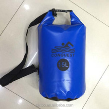 Custom PVC Dry Bag Waterproof With Backpack