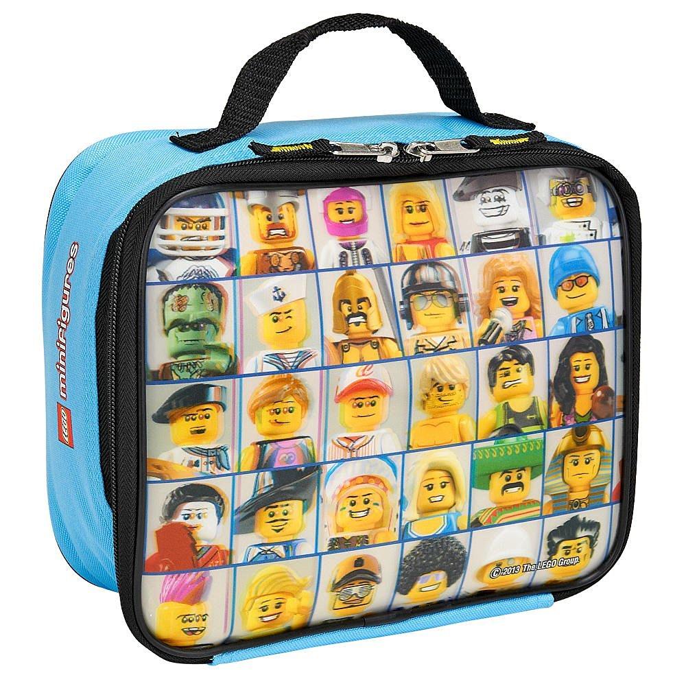 "LEGO ""Mini Figure"" Lenticular Rectangular Soft Lunch Box"