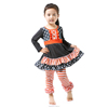 Fashion kid clothes wholesale children clothing usa ruffle western girls outfit