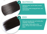 Free Market United States Anti Gray Hair,Natural Russian Bounce ...
