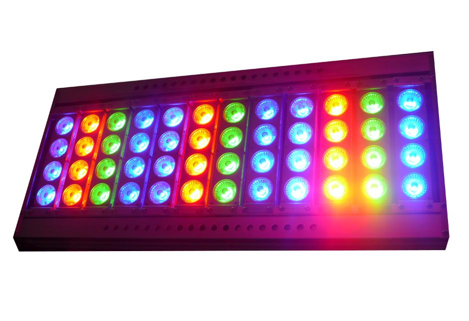 Impermeable resistente al calor 5050 rgb sueño color 6803 ic led tira de luz