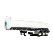 3 axle aluminum fuel tank semi trailer stainless steel oil tank semi trailer lpg tank trailer