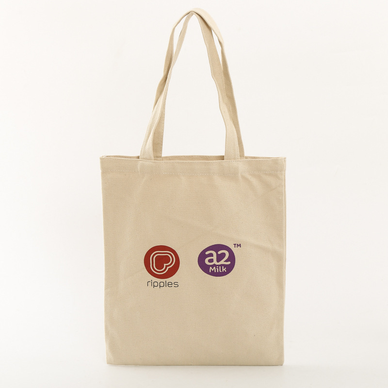 New design convenient customize girls printing natural cotton canvas beach bag tote shoulder tote bag with cheap price