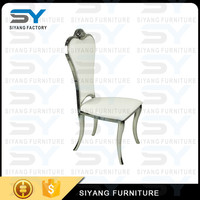 Dining room furniture removable louis xv chair scandinavian chair recycle leather dining chair CY019