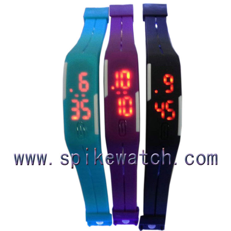 blue color new model touch screen boysgirls waterproof digital led watches 2015 - Color Watches