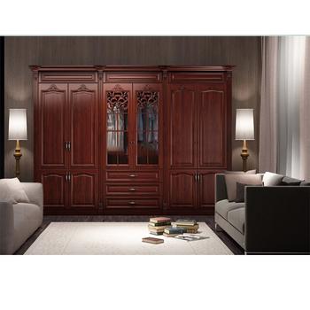Top selling acrylic wooden bedroom wardrobe, modern sliding door ...