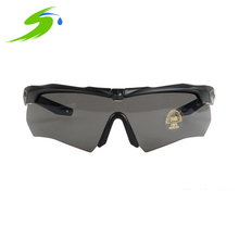 2d2202938d ESS CROSSBOW Tactical Cycling Glasses Military Polarized Bullet-Proof Bike  Gafas Ciclismo 3 Lens Men Bicycle Eyewear Si066