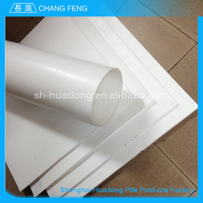 Excellent corrosion resistance virgin ptfe teflon molded sheet