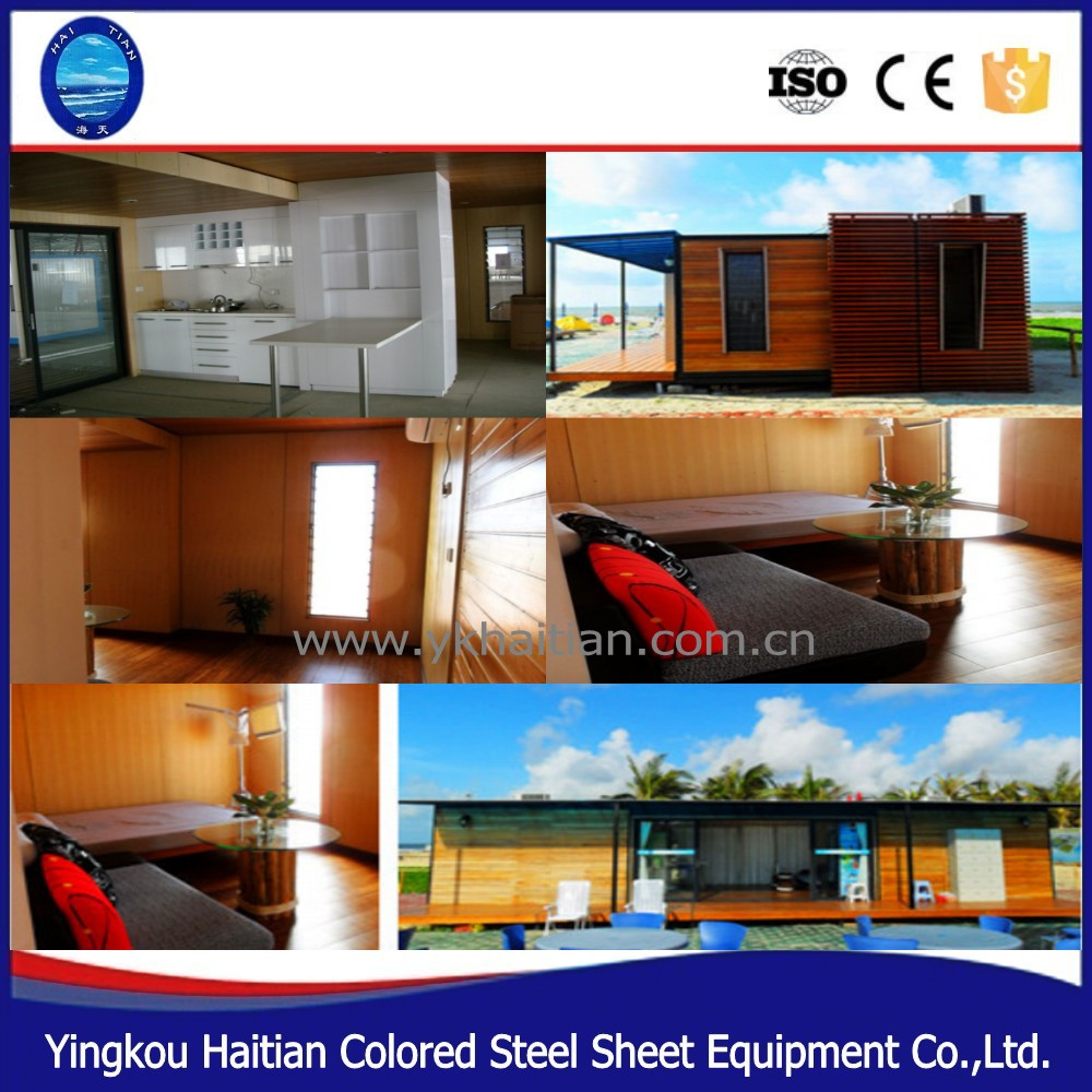 Cheap Two Bedroom Apartments: Prefabricated Wooden Log House Structure Design China