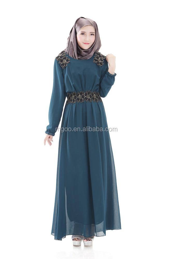 neue herbst muslimischen abaya kleider frauen lange g nstige islamischen gro handel abaya2016. Black Bedroom Furniture Sets. Home Design Ideas