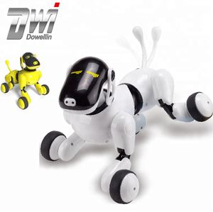 DWI Dowellin new puppygo kids best gift dance intelligent smart robot dog for sale