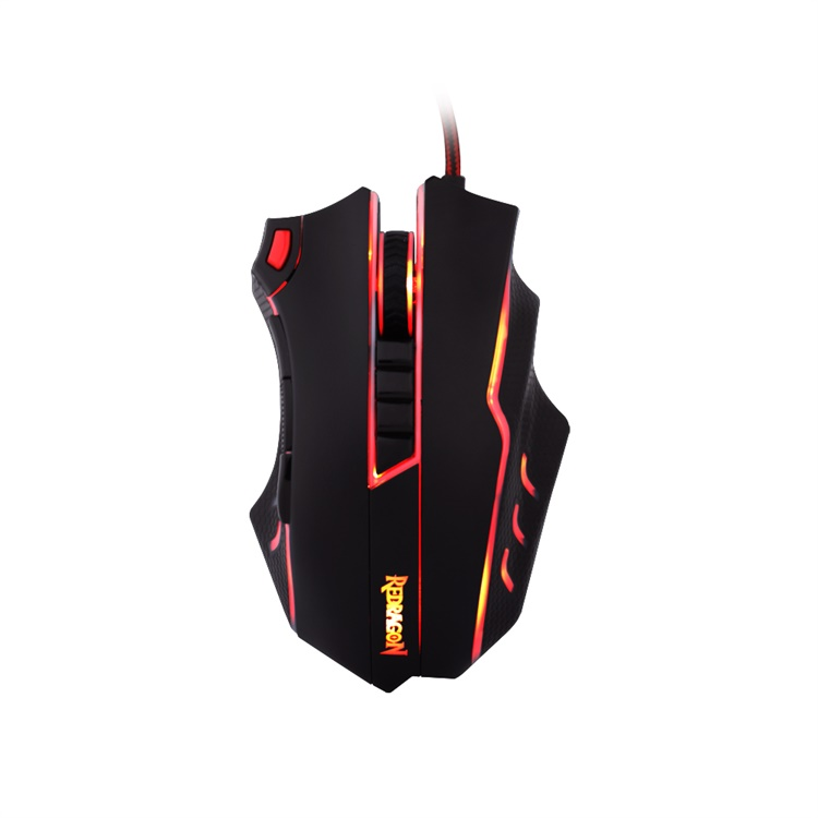 Redragon CENTROPHORUS M601 3200 DPI Gaming Mouse 6D Optical USB Wired Mouse with side buttons for PC Desktop