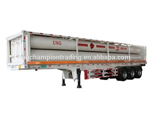 40ft container CNG tube semi trailer