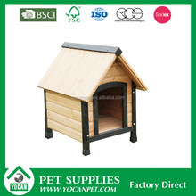Outdoor wooden dog kennel factory direct wholesale