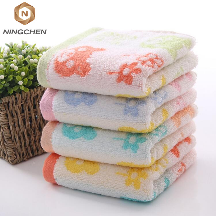 high quality bamboo bath towel Soft high quality baby organic 100% bamboo fabric 25*25cm baby hand face towel