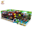 4 level pirate theme Commercial indoor playground equipment , Pirate Paradise