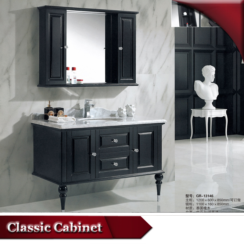 HS-G13146 black lacquer bath vanities/ french provincial vanity/ german bathroom furniture manufacturer