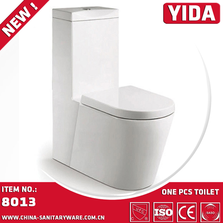 YIDA brand Model 8013 high quality ceramic Grade A self cleaning toilet siphonic water closet