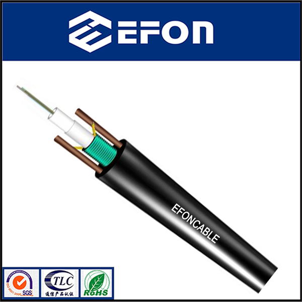 Gyxtw 2 4 6 8 10 12 24 Core Copper Wire G 625 Fiber Optical
