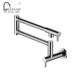 Commercial Industrial Extension Extend Folding Tap Spout Wall Mounted Kitchen Faucet