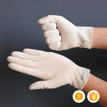 Stylish appearance style comfortable medical gloves latex
