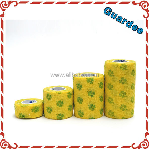 Game Veterinary Printed Horse Cohesive Elastic Bandage