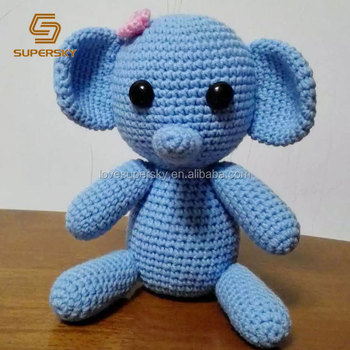 Amigurumi Crochet Elephant Pattern | Supergurumi | 350x350
