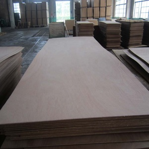 900KG density 2.7mm okoume hdf door skin for door face