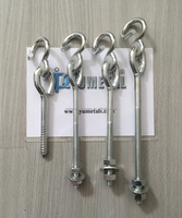 Electric Galvanized Swing Hook With Screw Or With Bolt