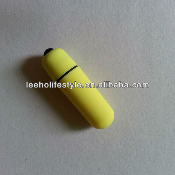 strong vibrating rubber coating color women bullet battery vibrator
