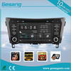 factory price in dash car dvd player For NISSAN QASHQAI 2014 support 3G audio DVB-T MP3 MP4 HDMI DVD function