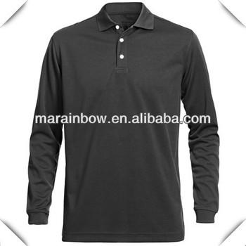 Pria Lengan Panjang Polo Shirt Golf Kualitas Baik Hitam Desain Polos Pro Jala Polo Shirt Untuk Pria Buy Pria Lengan Panjang Polo Shirt Golf Kualitas Baik Hitam Desain Polos Polo Shirt Kualitas Baik